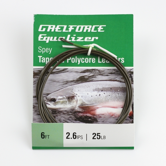 Equalizer Sinking Polycore Leaders 6ft 2.6 ips