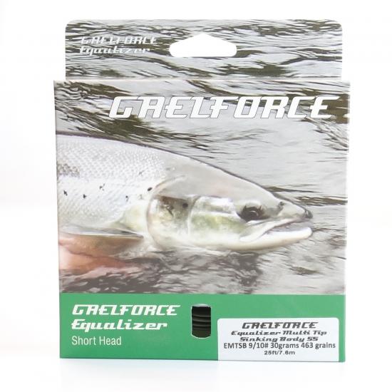 Equalizer Multi Tip 9/10# Sinking Body S5. 30grams/462grains 24.9ft/ 7.54m